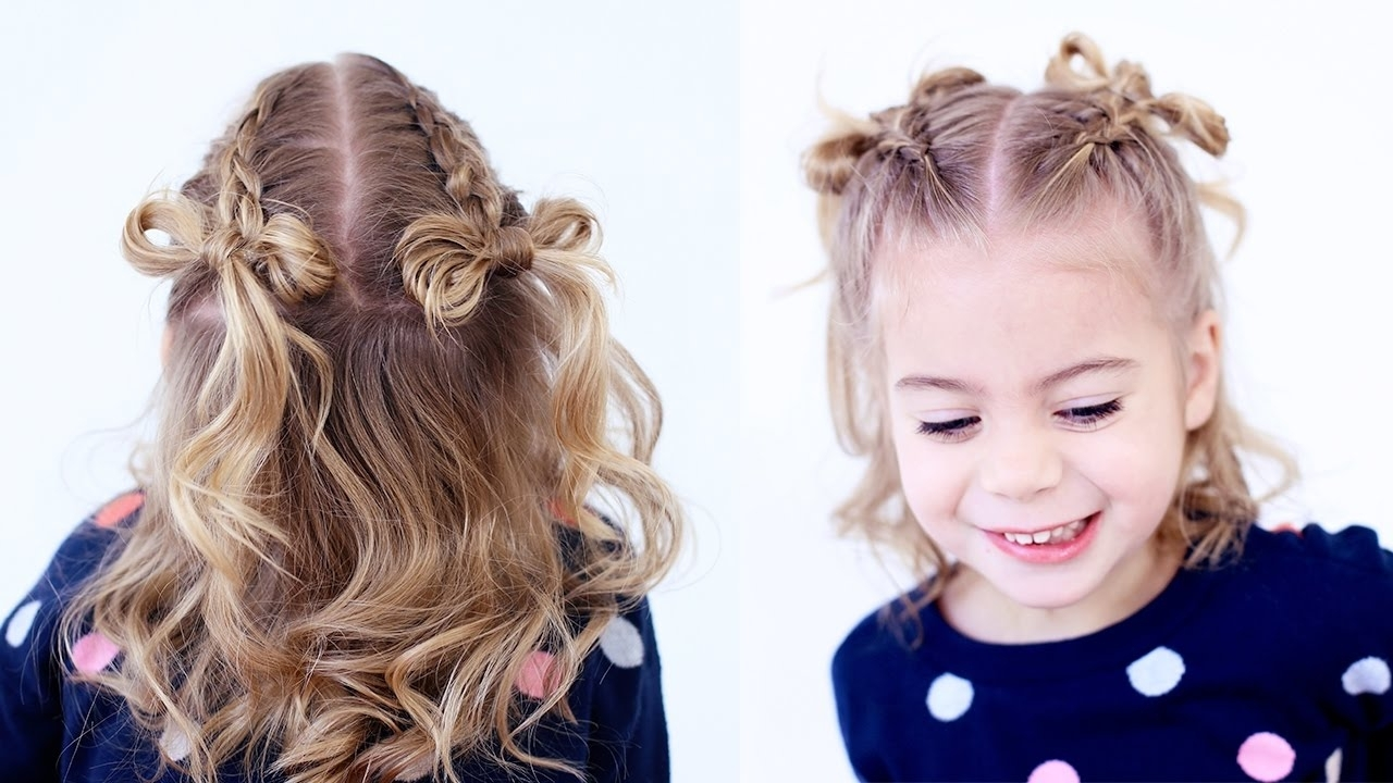 Dutch Braid Hair Bows (Gallery 8 of 15)
