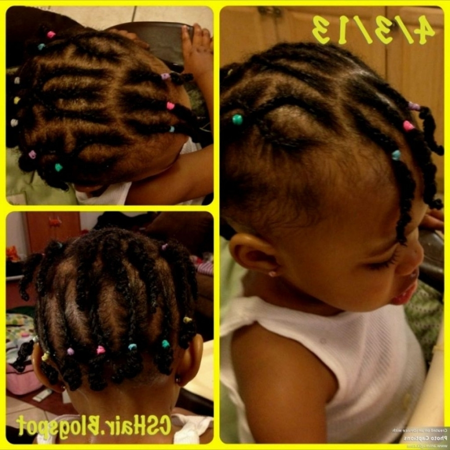 √ 24+ Fresh Braiding Hairstyles For Toddlers: Braided Hairstyles With Regard To Preferred Toddlers Braided Hairstyles (View 1 of 15)