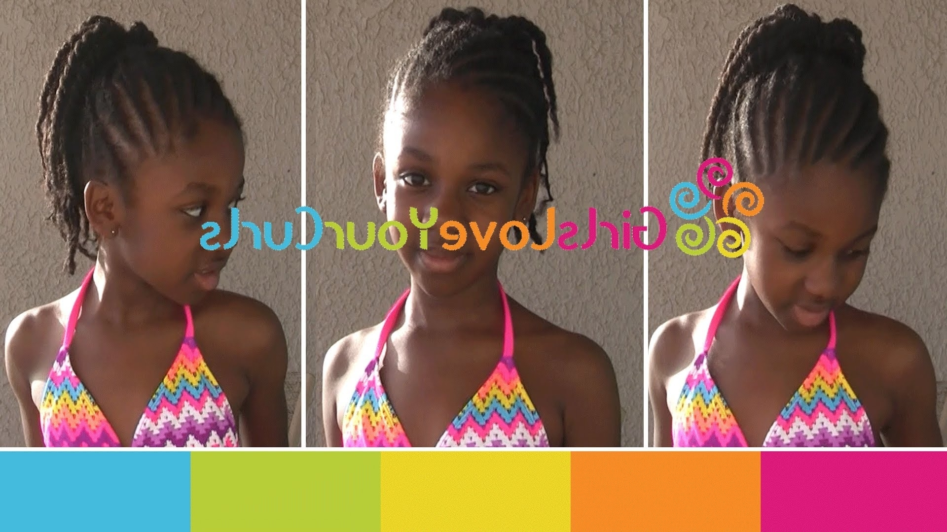 ♥ 46 ♥ Durable Protective Style For Natural Hair – Perfect For Throughout Recent Braided Hairstyles For Swimming (View 1 of 15)