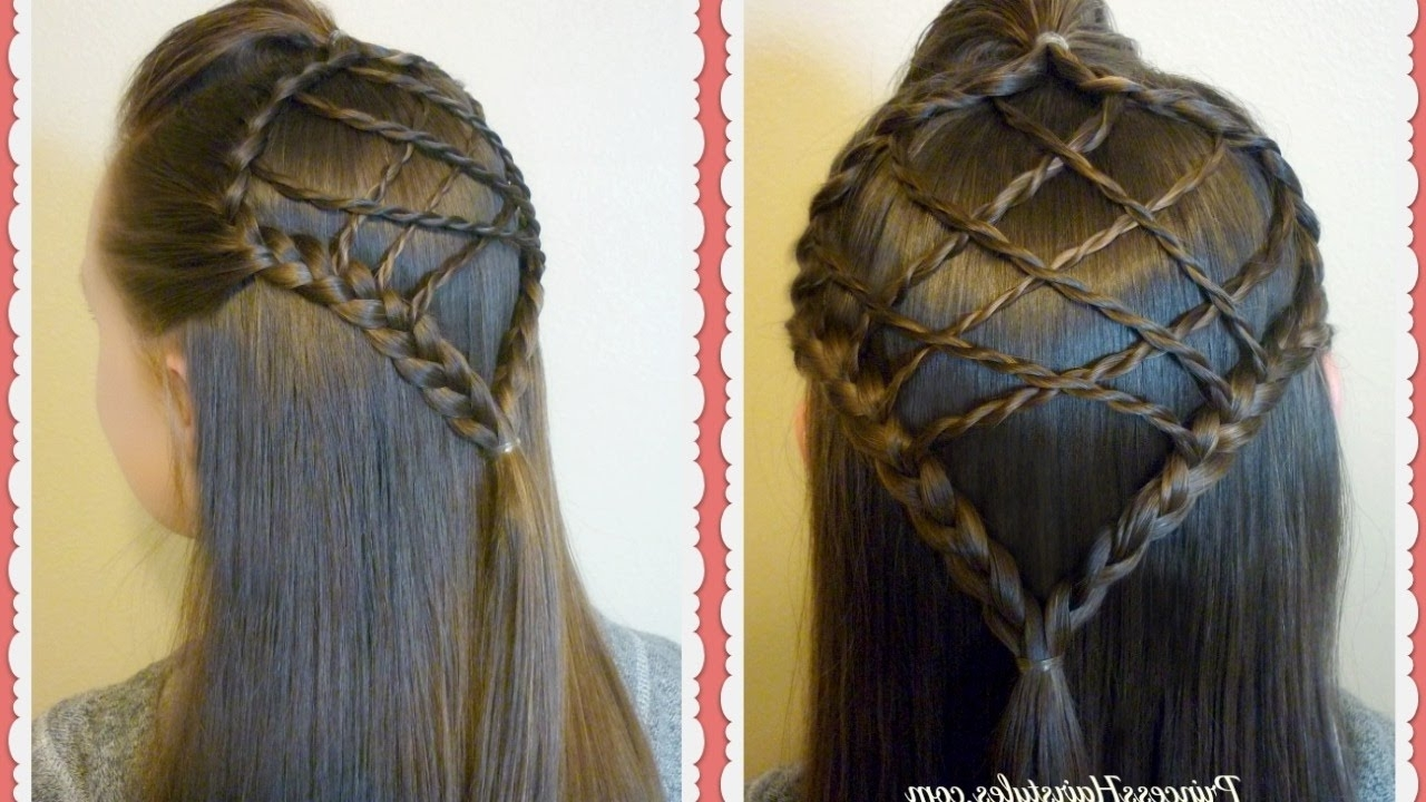 Easter Hairstyles, Braided Dream Catcher Hair Tutorial – Youtube Regarding Best And Newest Easter Braid Hairstyles (View 4 of 15)
