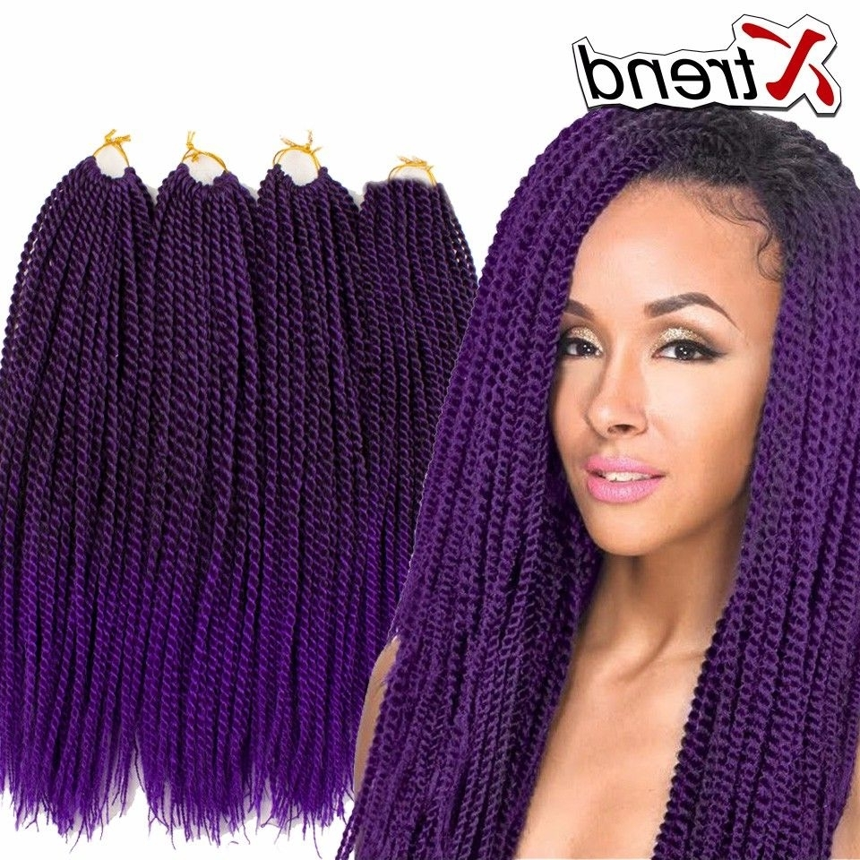 Evb Senegalese Twist Hair Crochet 22 Inch For Recent Braided Hairstyles With Crochet (View 7 of 15)