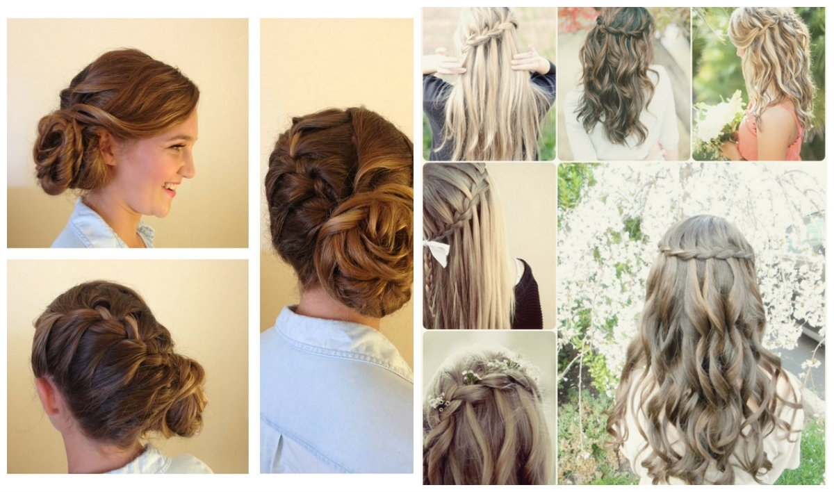 Exclusive 3 Quick And Easy Hairstyles For Modish Bridesmaids Regarding Well Known Braided Hairstyles For Bridesmaid (View 8 of 15)