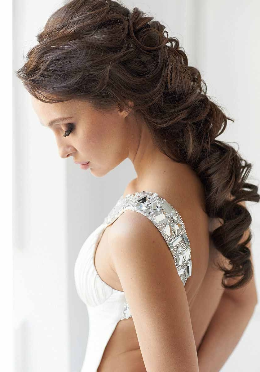 Fall Wedding Hairstyles For Weddings Ideas Prettyutiful Cute Guests Inside Most Popular Braided Vintage Hairstyles (View 4 of 15)
