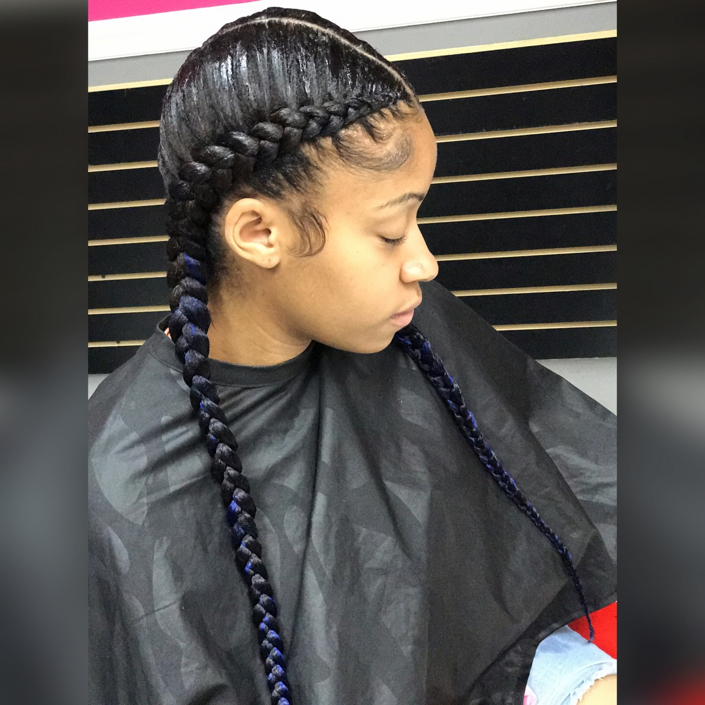 Famous Braided Hairstyles With Two Braids Throughout Two Braided Hairstyles Double Braid Sparkly Headband Braided Awesome (View 14 of 15)