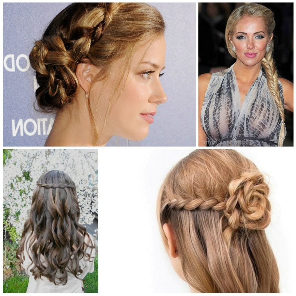 Famous Elegant Braid Hairstyles Intended For 20 Braids Updo Hairstyles 2017 Elegant Braided Hairstyles – Page (View 13 of 15)