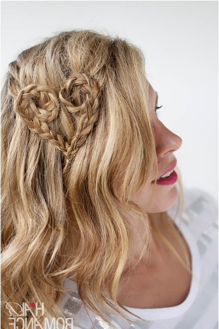 Famous Heart Braided Hairstyles In 14 Adorable Heart Shaped Hairstyles For Young Ladies (View 5 of 15)