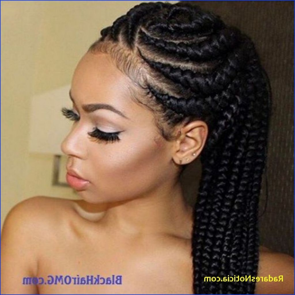 Fashionable African American Braided Hairstyles Inside 11 Best African American Braided Hairstyles (View 7 of 15)
