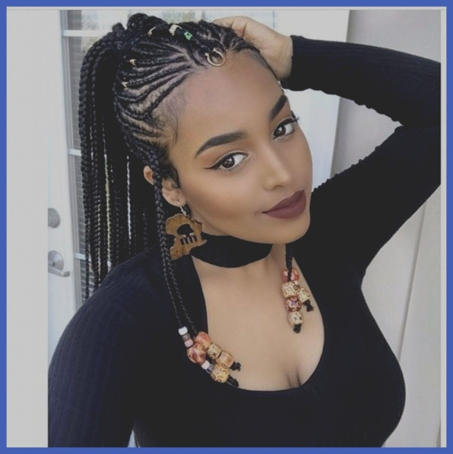 Fashionable Black Braided Hairstyles Inside 34 Best Of Cute Black Braided Hairstyles For Girls Trends Hairstyle (View 15 of 15)