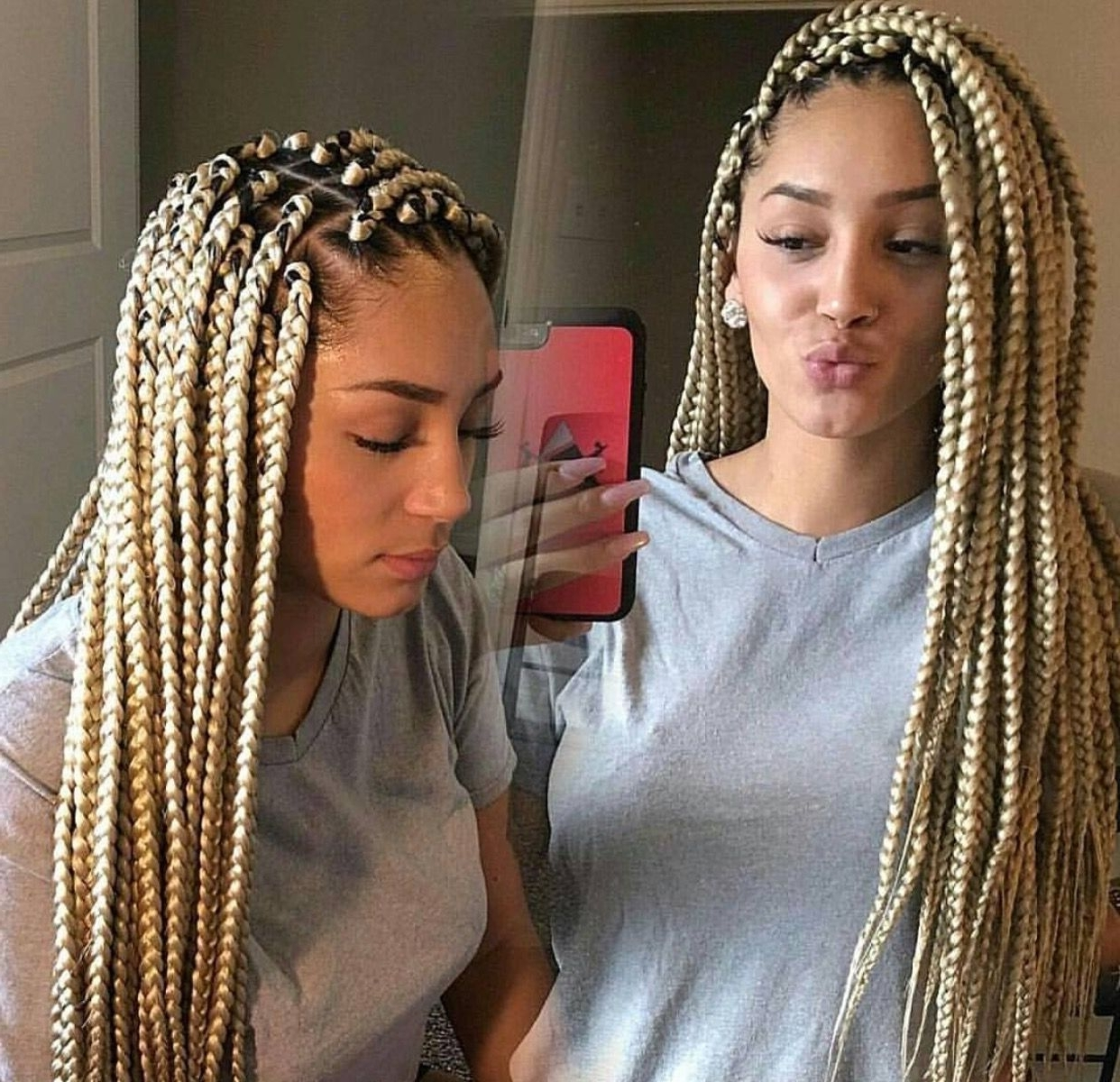 Fashionable Blonde Braided Hairstyles Intended For Blonde Braids ‼ Pinterest ➡️hair,nails, And Style (View 5 of 15)