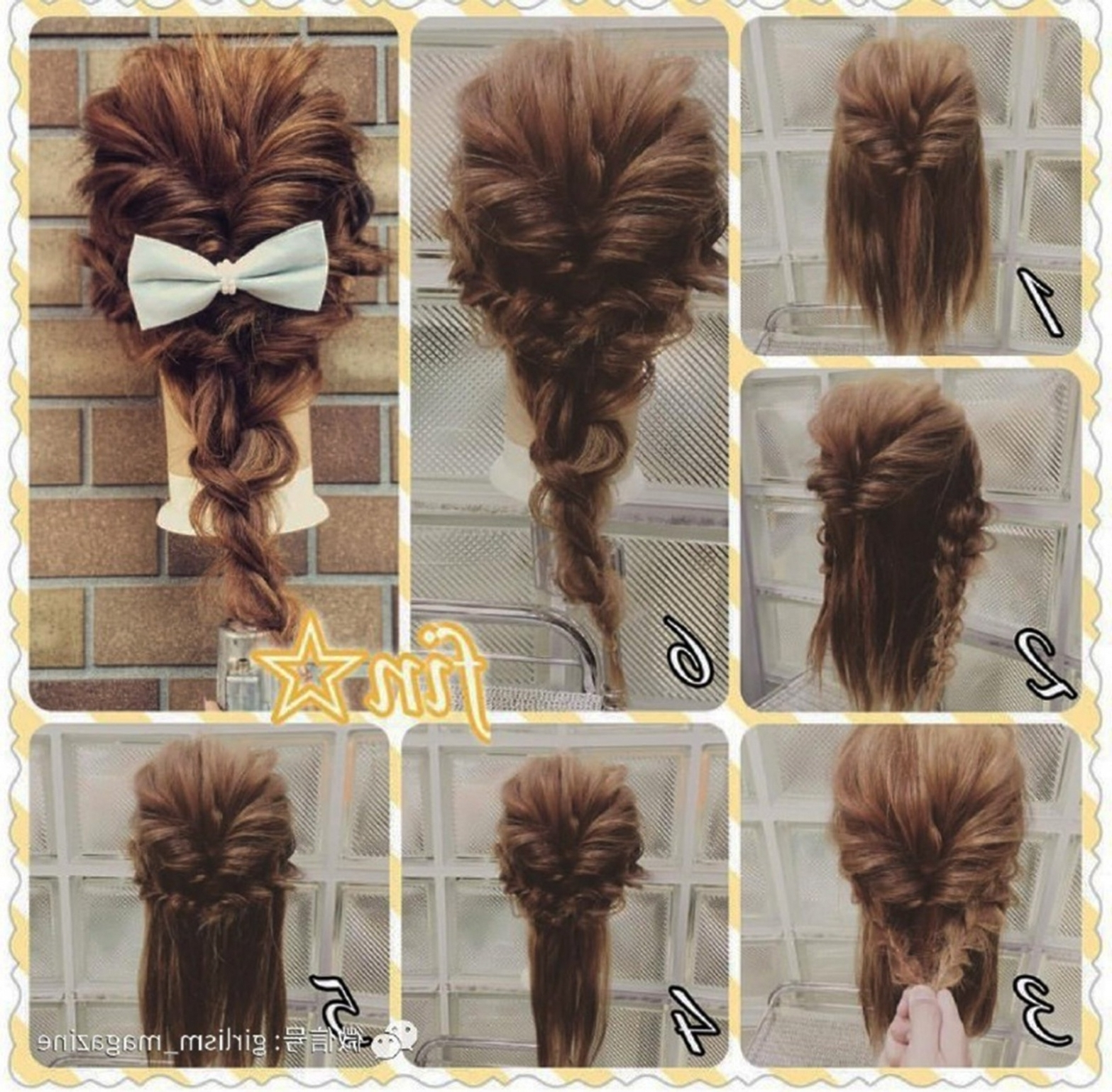 Fashionable Braid Hairstyle For Shoulder Length Hair Regarding In Intended For Recent Shoulder Length Hair Braided Hairstyles (View 14 of 15)