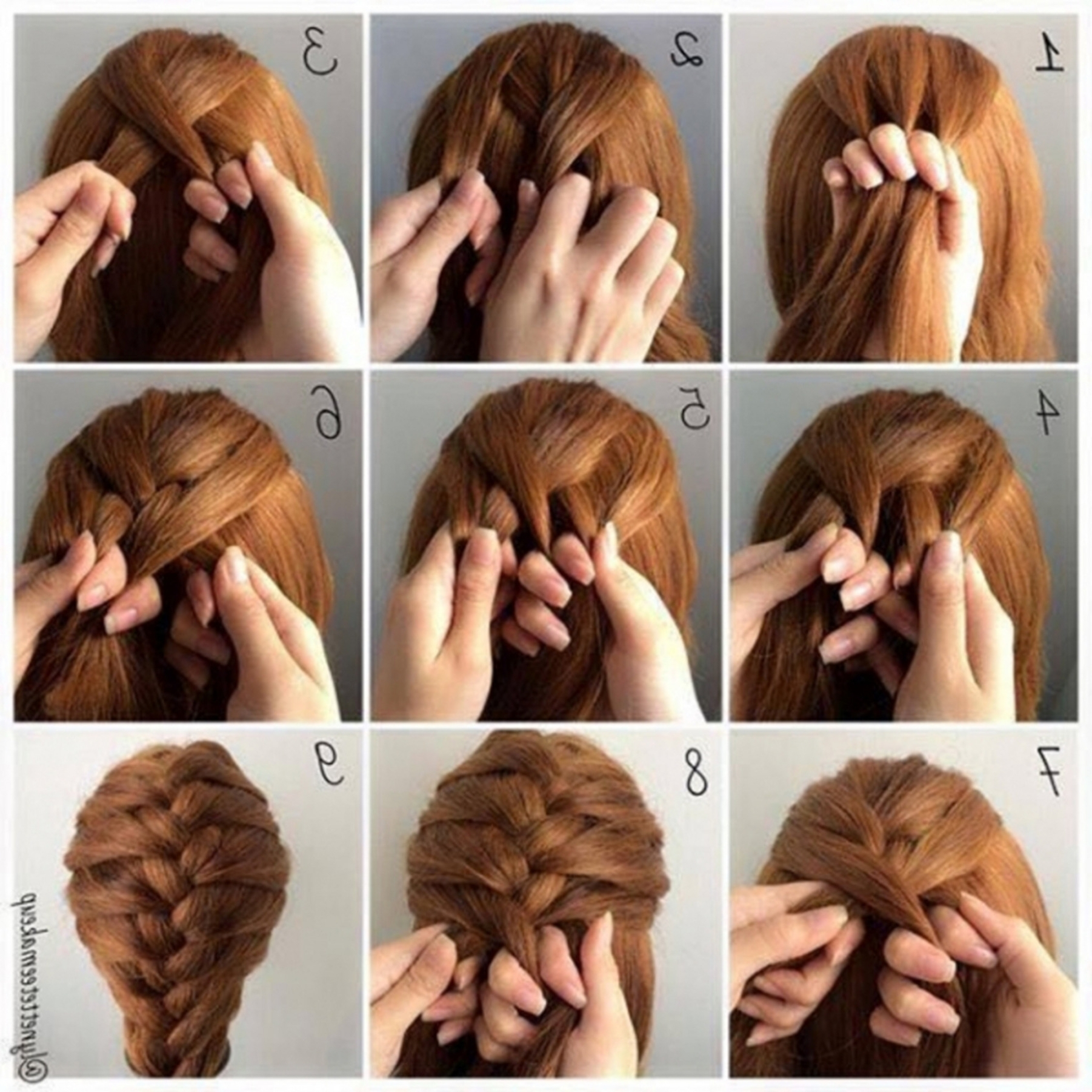 Fashionable Braid Hairstyle For Shoulder Length Hair (View 7 of 15)