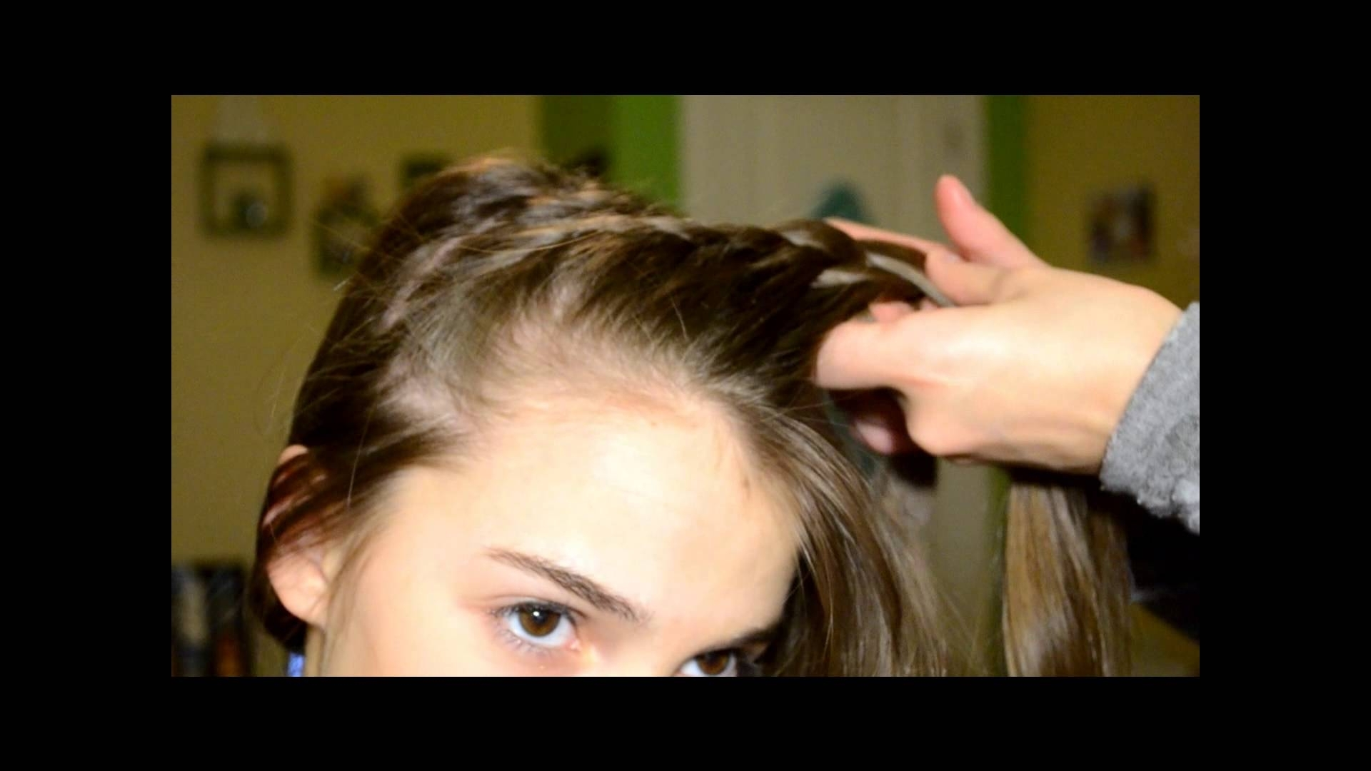 Fashionable Braided Gymnastics Hairstyles Regarding Gymnastics Meet Hairstyle! – Youtube (View 10 of 15)
