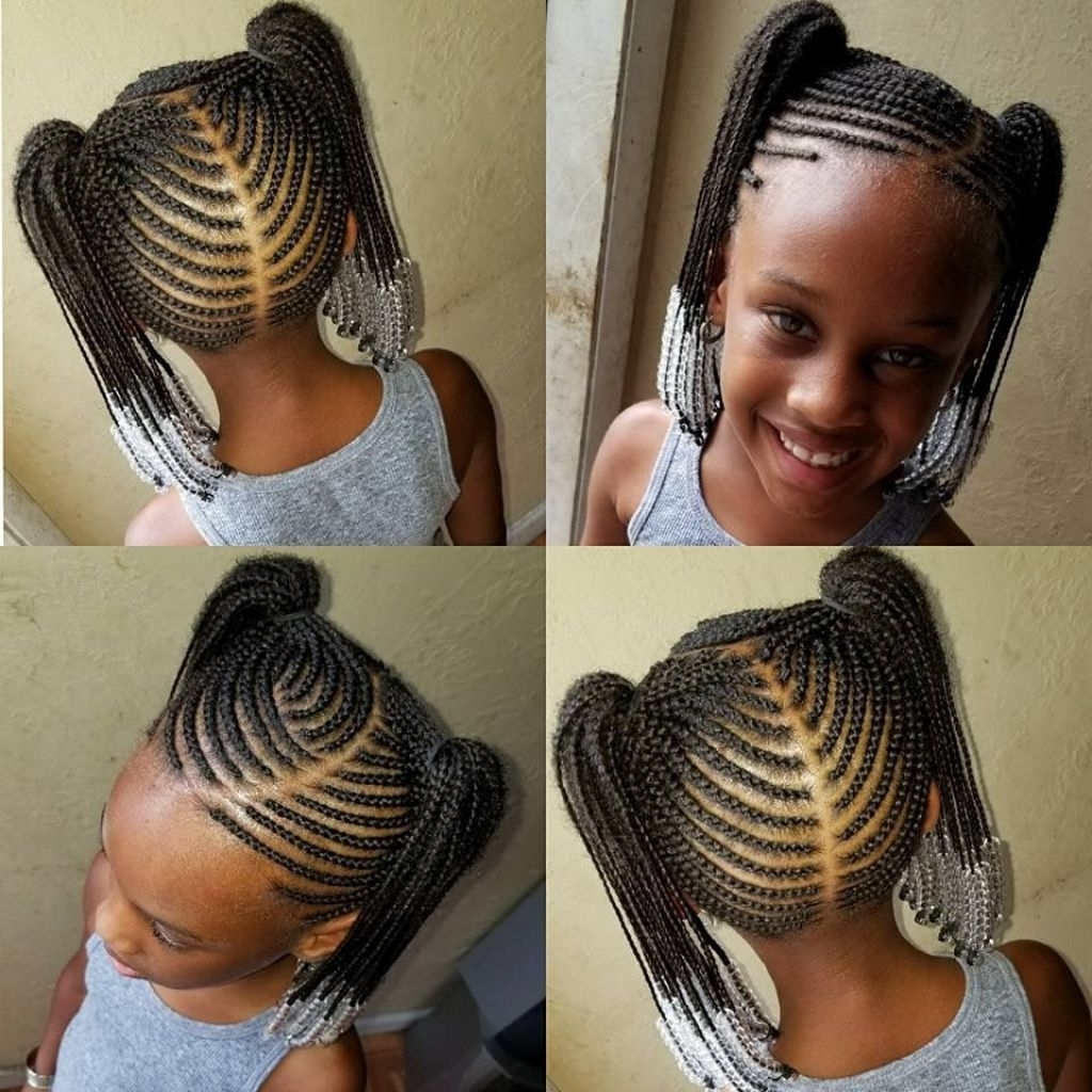 Fashionable Braided Hairstyles For Kids Throughout √ 24+ Inspirational Braided Hairstyles For Kids: What Is The Best (View 5 of 15)