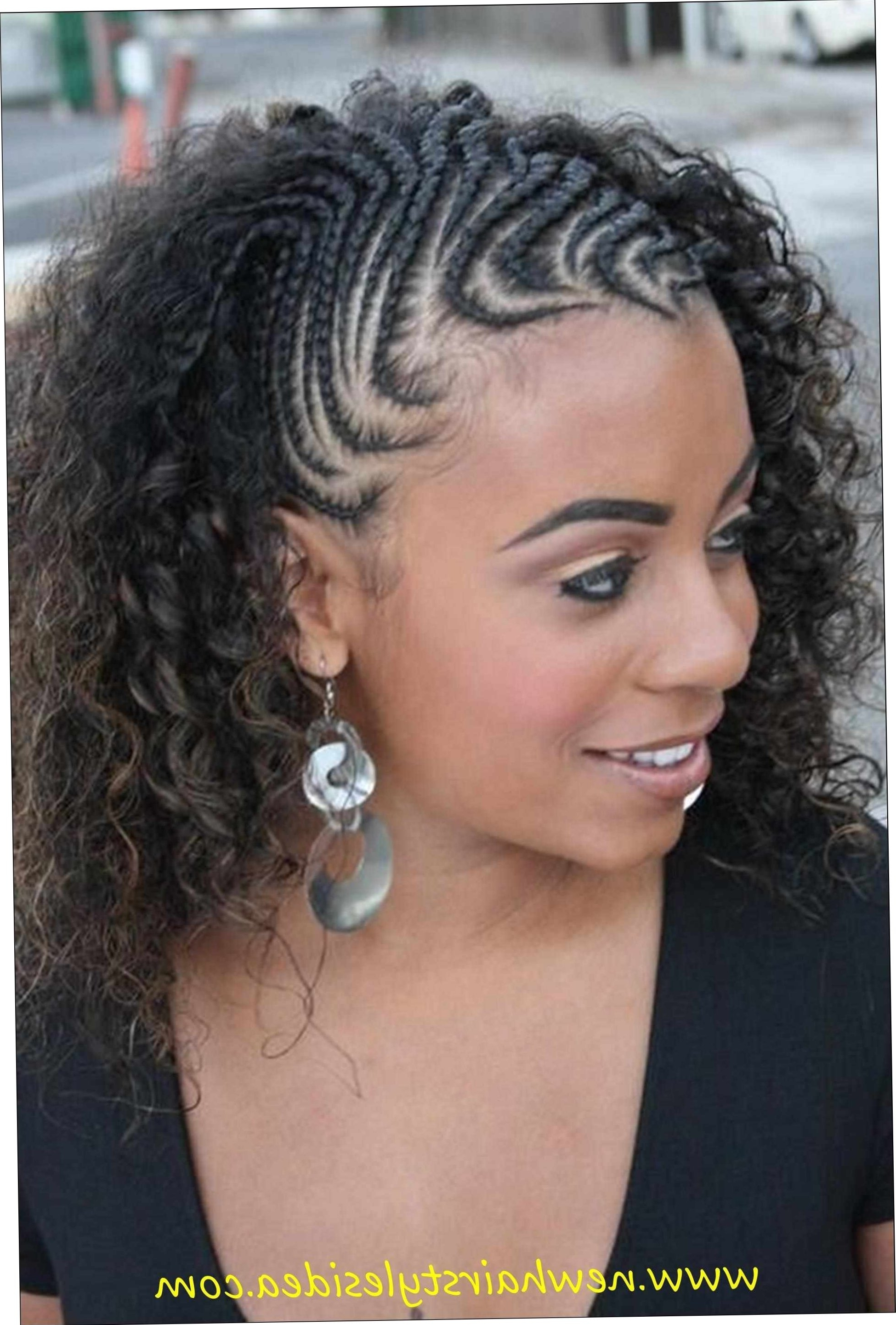 Fashionable Braided Hairstyles For Round Faces Inside Oval Faces Cornrow Hairstyles Round Face Black Women Braided For (View 8 of 15)