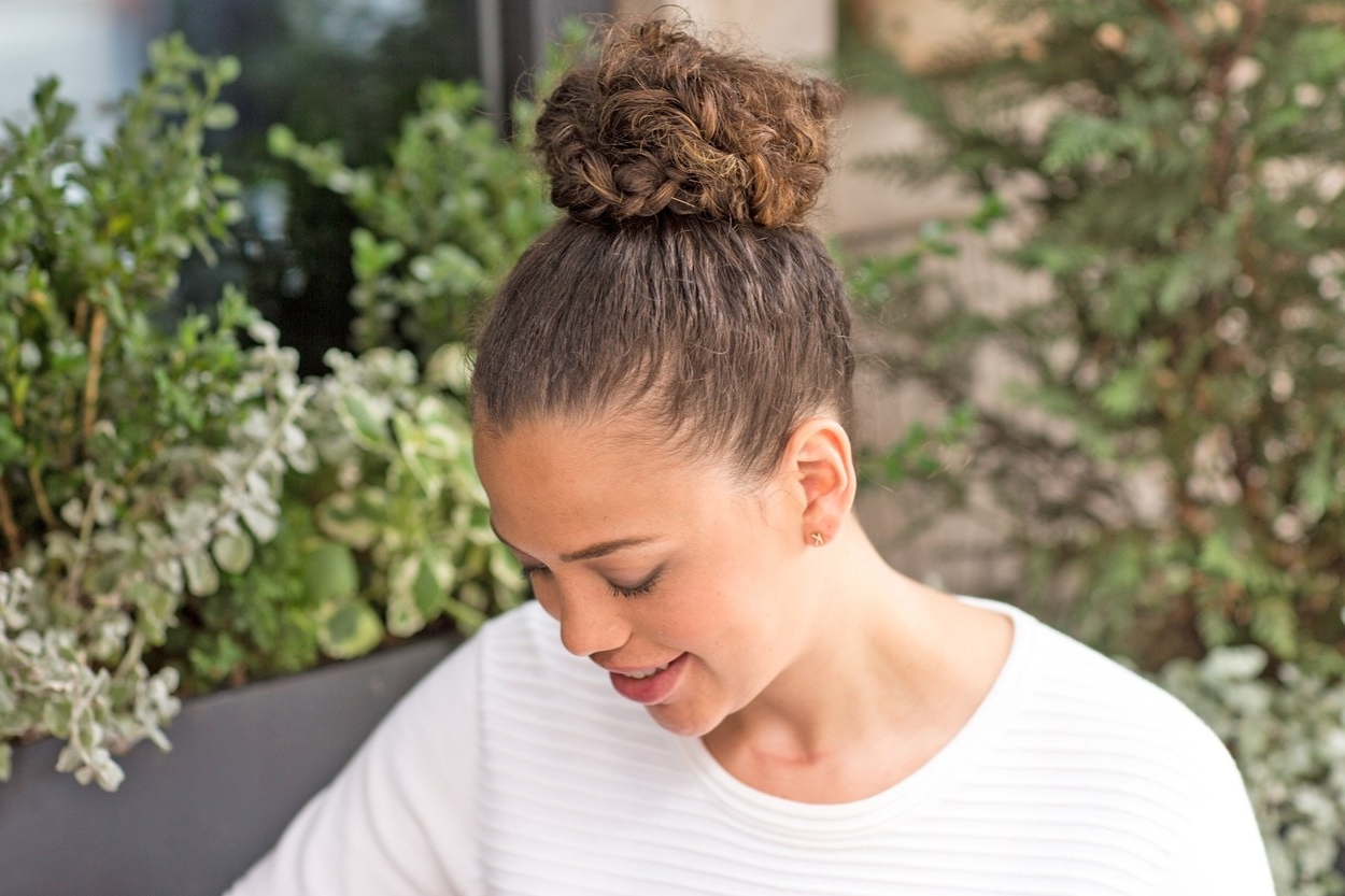 Fashionable Braided Hairstyles With Curly Hair Within The Best Braided Hairstyles For Fine Hair And Curly Hair (View 5 of 15)