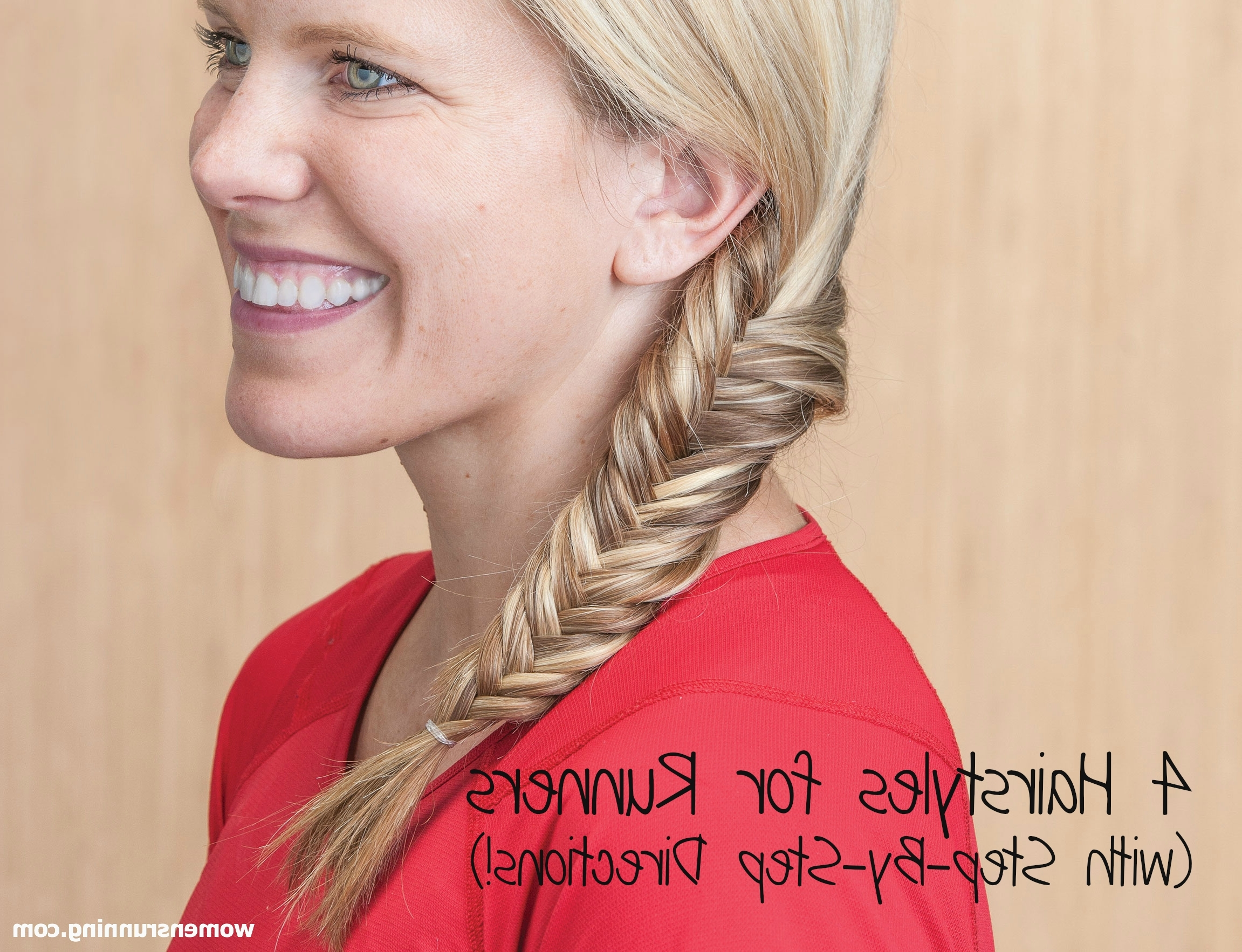 Fashionable Braided Running Hairstyles With 4 Hairstyles For Runners (with Step By Step Directions)! (View 7 of 15)