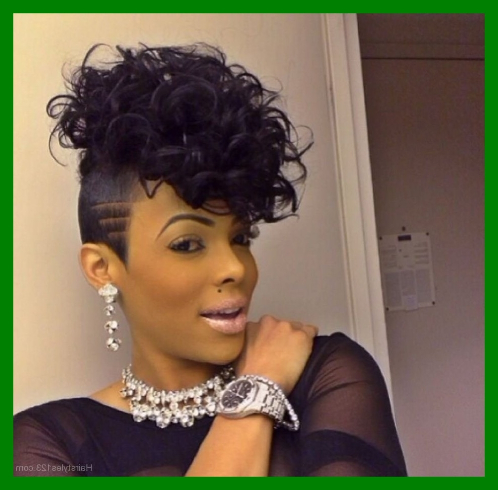Fashionable Mohawk Braided Hairstyles Pertaining To Best Glamorous Mohawk Braids With Curls On Braided Hairstyles For (View 9 of 15)