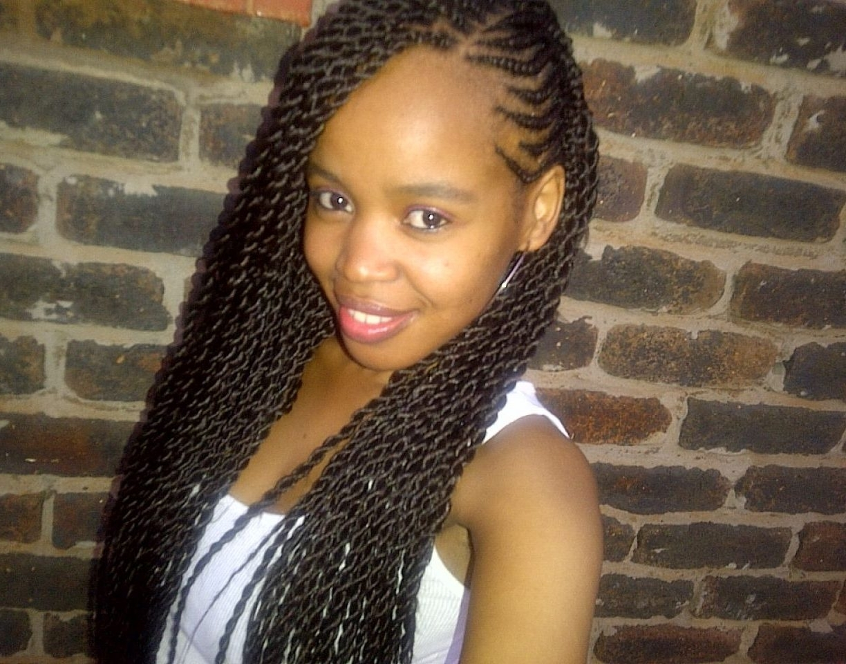 Fashionable South Africa Braided Hairstyles Within African Braids Hairstyles For Kids With Ponytail Pictures South (View 9 of 15)