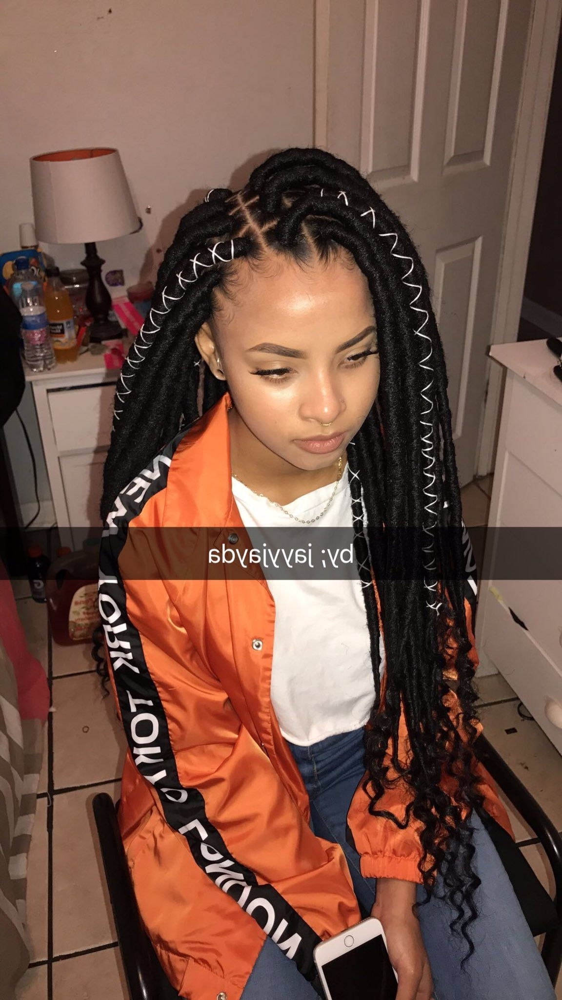 Favorite Braided Hairstyles For Black Girls For ♛ ❥fσℓℓσω Мє: @giaaxoo ♛ (View 9 of 15)