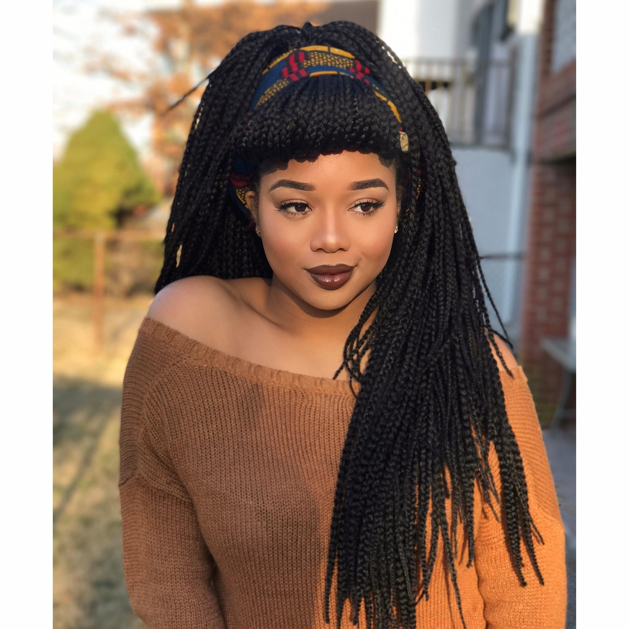 Favorite Braided Hairstyles For Black Women Regarding The Top 10 Summer Braid Hairstyles For Black Women – Mane Guru (View 4 of 15)