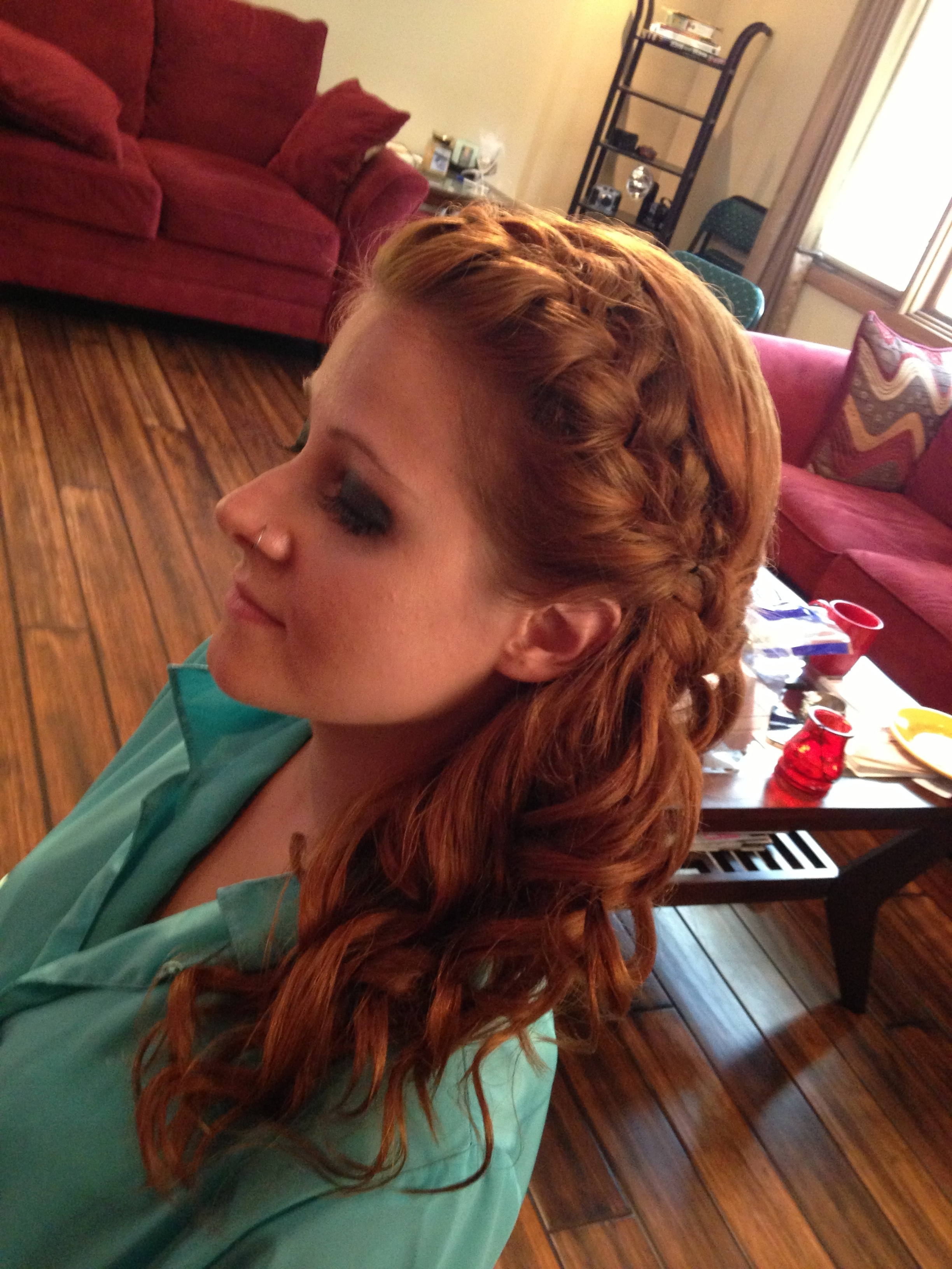 Favorite Braided Hairstyles For Red Hair Within Style Onsite » Style Onsite » Bridal Updo (View 4 of 15)
