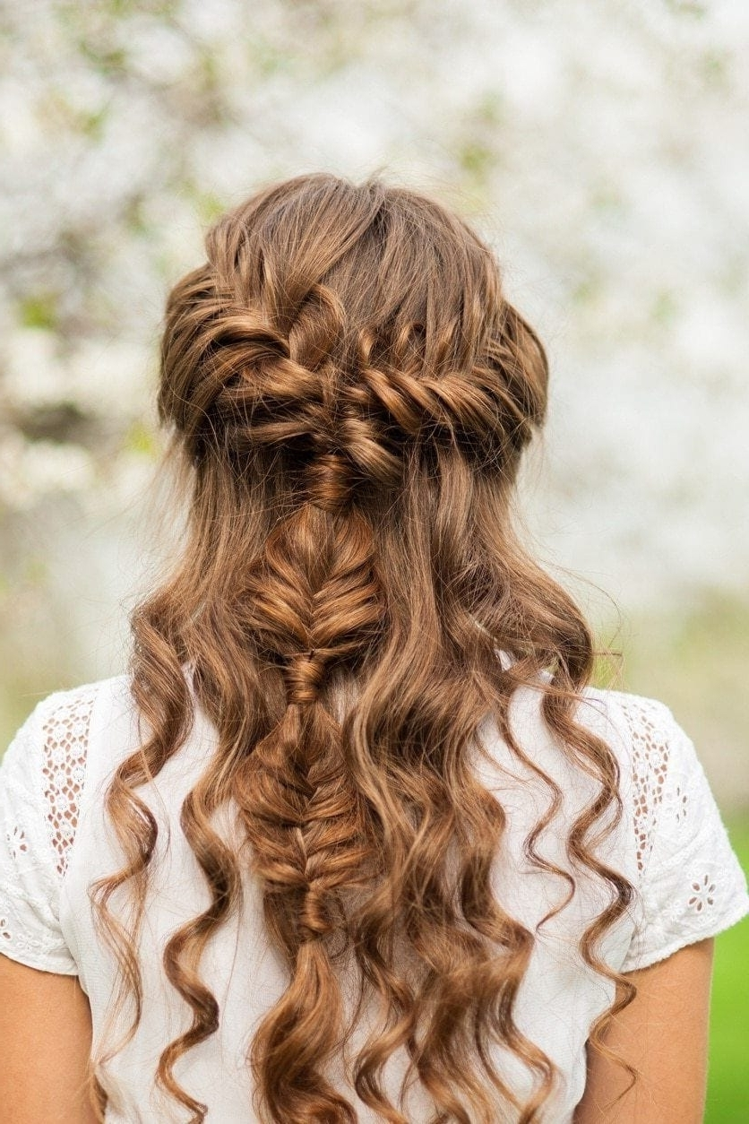 Favorite Braided Loose Hairstyles Regarding Medieval Hairstyles: 31 Romantic Looks That Still Slay Today (View 4 of 15)