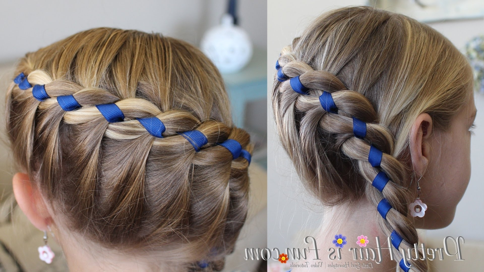 Featured Photo of Braided Ribbon Hairstyles