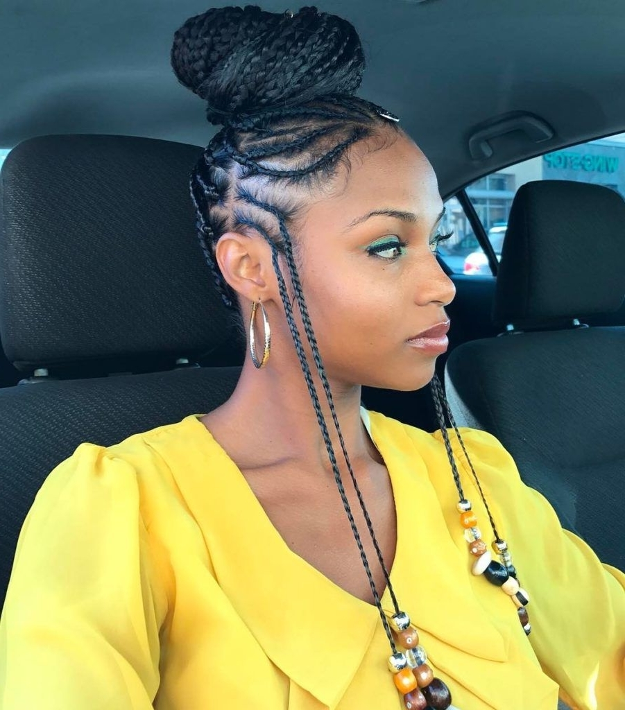 Get Ready For Summer With These Looks! Click For The Top 10 Summer Regarding Most Recent Braided Hairstyles For Black Women (Gallery 3 of 15)