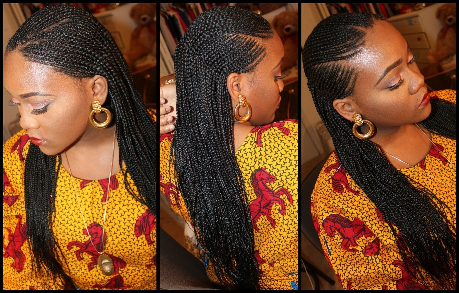 Ghana Braids: Check Out These 20 Most Beautiful Styles Intended For Famous Ghanaian Braided Hairstyles (View 8 of 15)