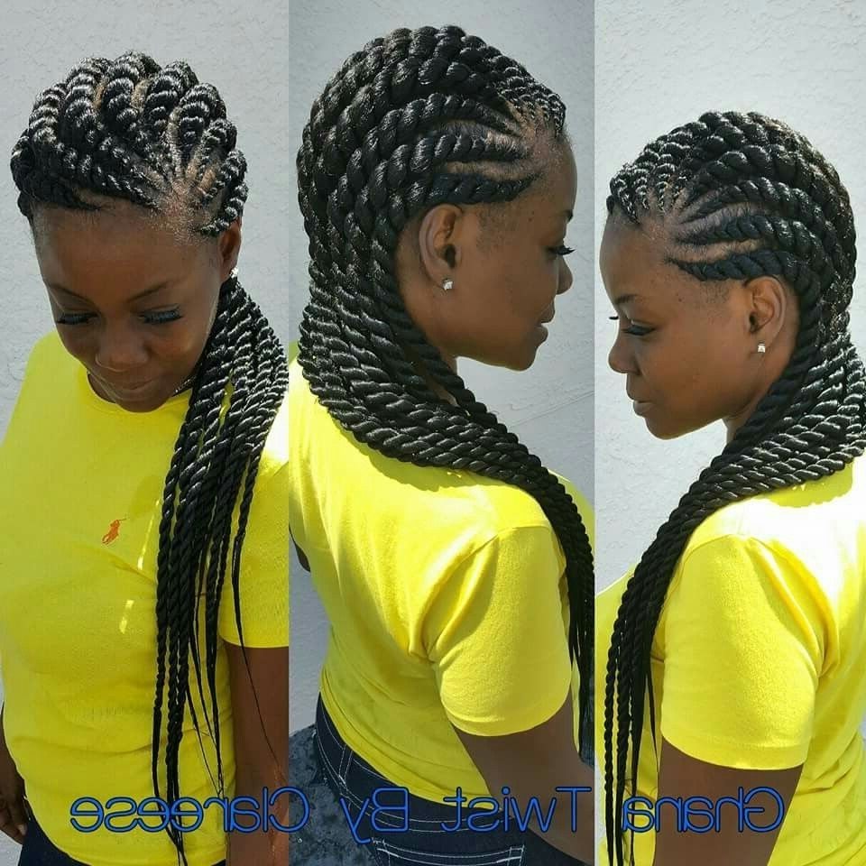 Ghana Intended For Most Up To Date Ghanaian Braided Hairstyles (Gallery 10 of 15)