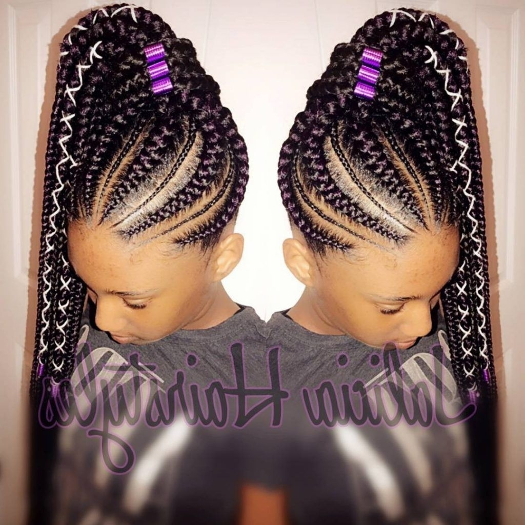 Gone Are The Days When Cornrow Hairstyles Were Rockedolder Women Intended For Favorite Braided Hairstyles For Older Ladies (Gallery 8 of 15)