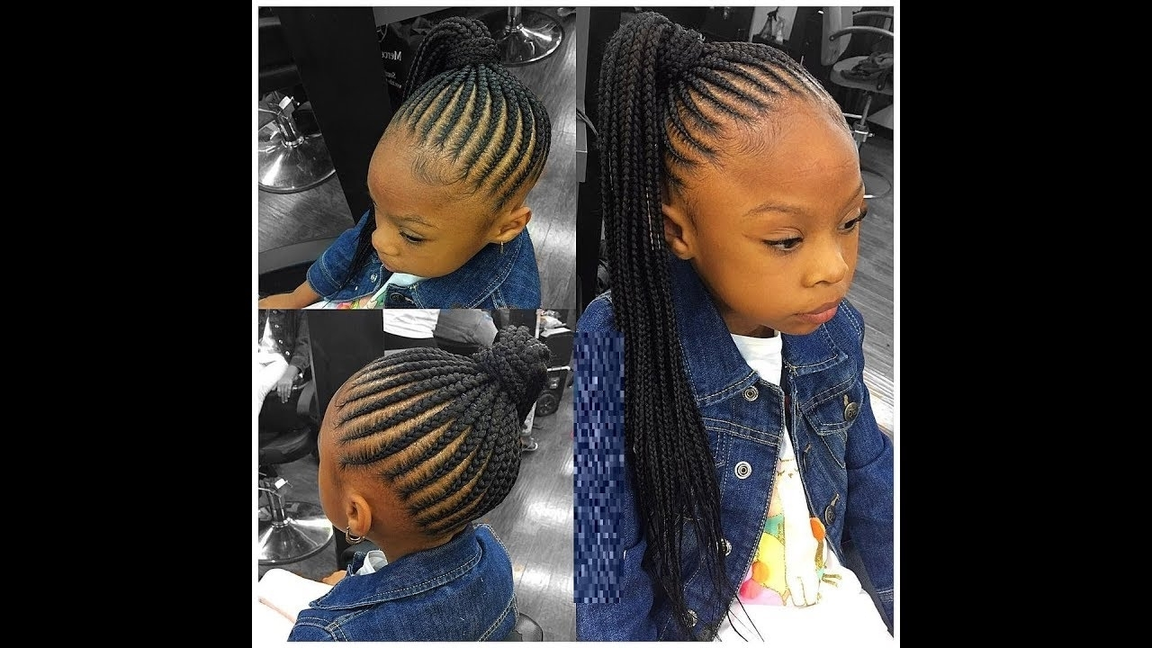 Hair Braiding Styles For Little Girls : 2018 Hairstyles For The Kids In Current Braided Hairstyles For Little Girl (View 8 of 15)