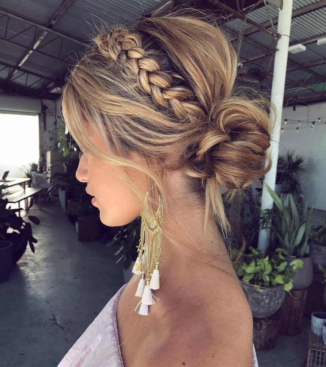 Hair Style, Makeup With 2017 Braided Hairstyles Up In One (View 6 of 15)