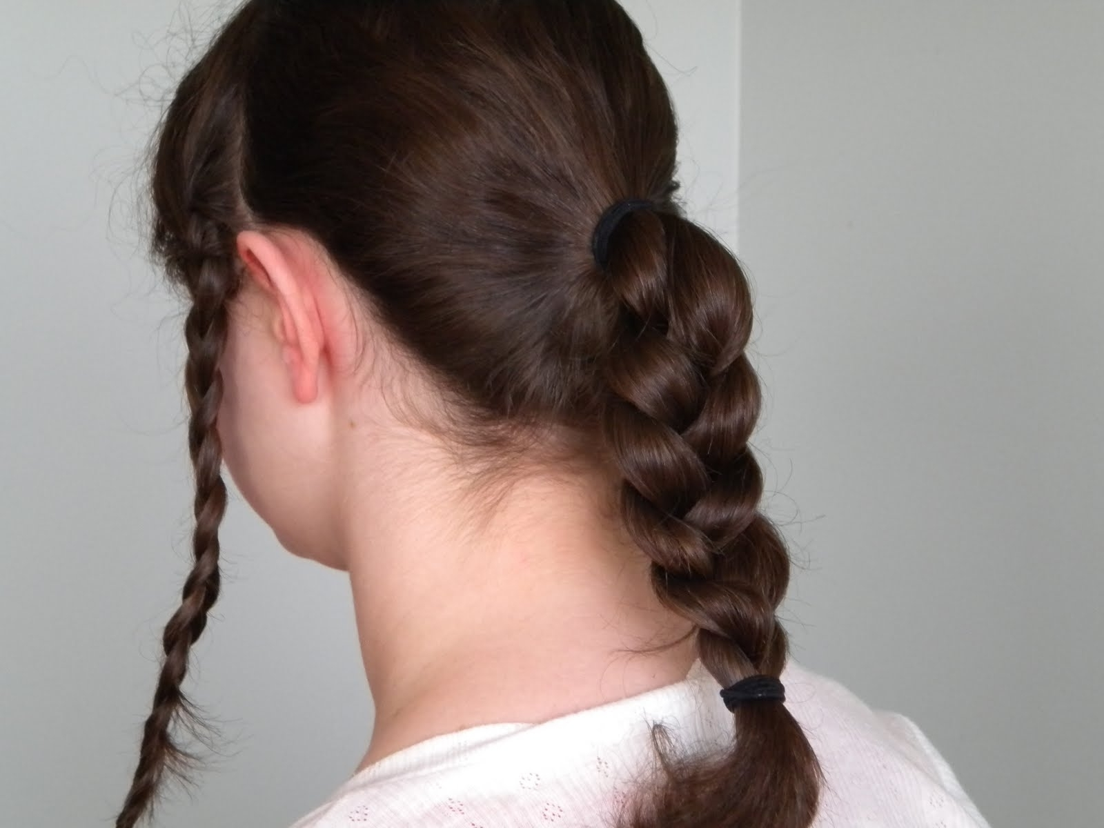 Hair Styles: Braided Victorian Hairstyle In Trendy Braided Victorian Hairstyles (View 7 of 15)