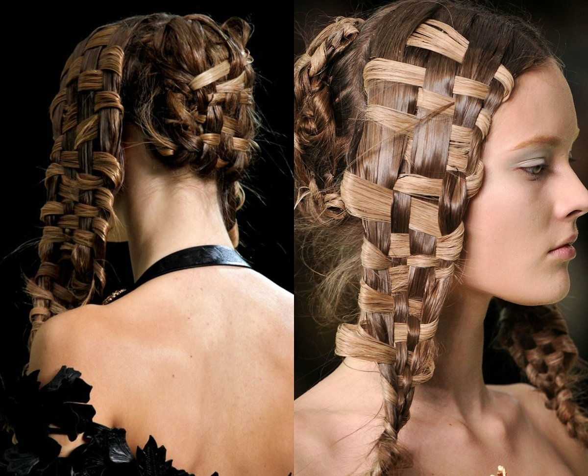 Hairdrome Intended For Popular Braided Hairstyles In Weave (View 7 of 15)