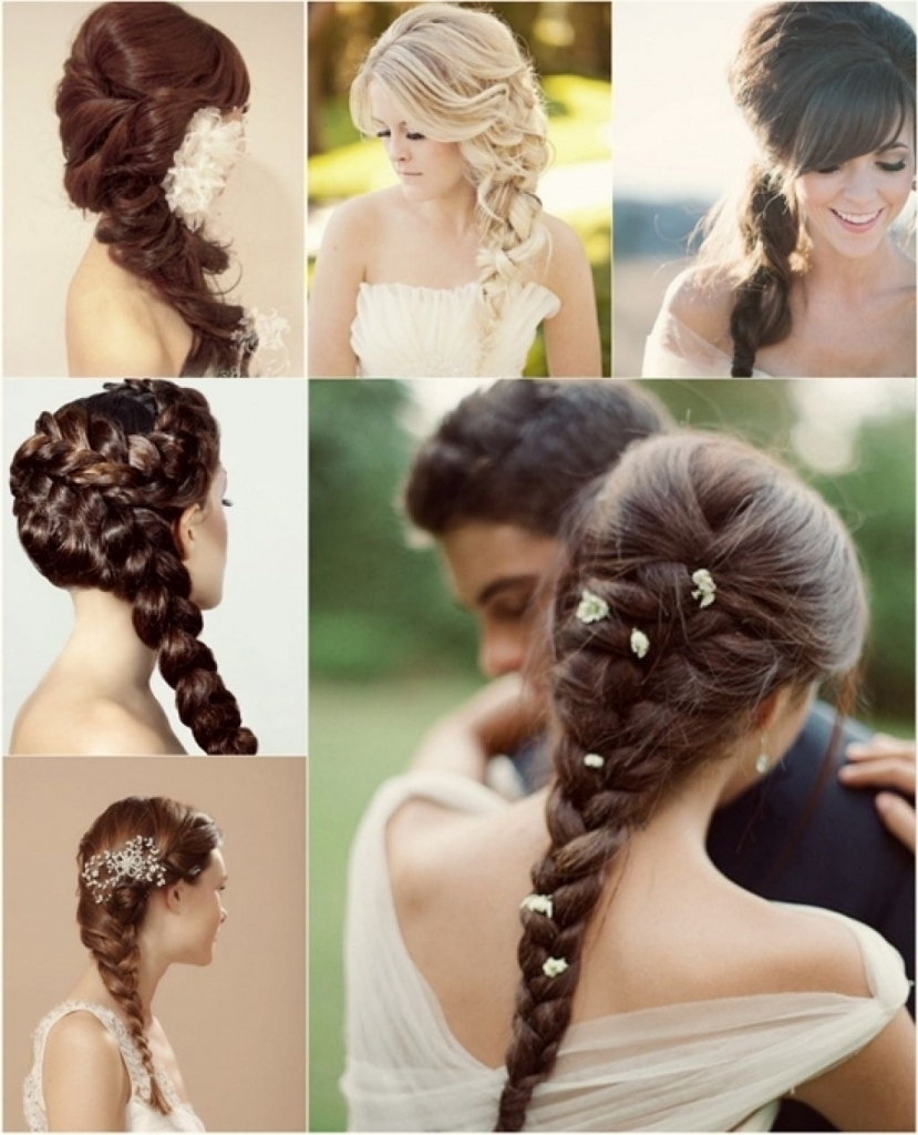 Hairstyle For Girls Wedding Wedding Braids For Long Hair Braided With Fashionable Wedding Braided Hairstyles For Long Hair (View 6 of 15)