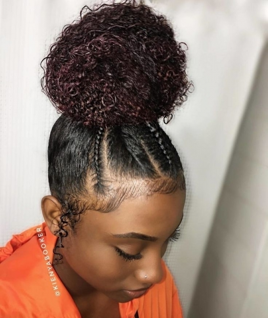 Hairstyle Ideas For Natural Hair Braid Hairstyles Natural Hair Best With Regard To Recent Braided Hairstyles On Natural Hair (View 4 of 15)