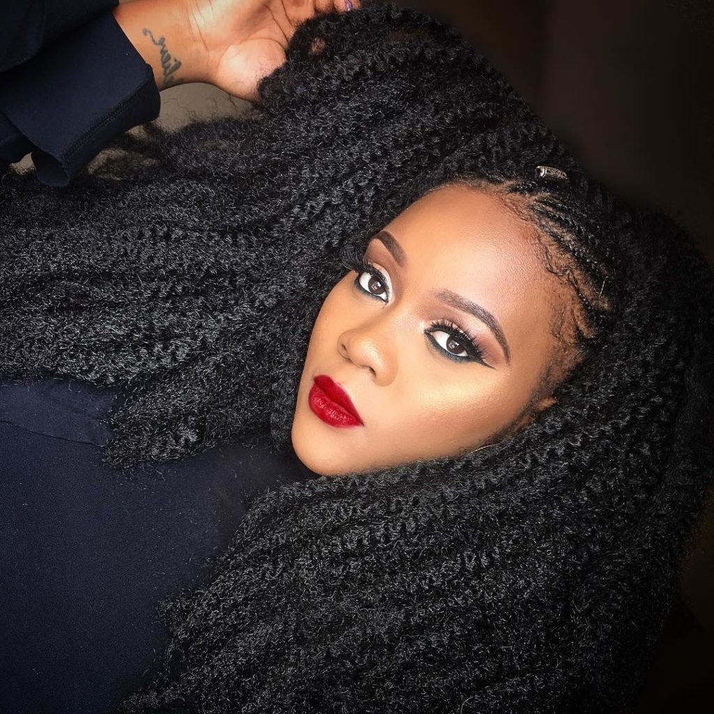Hairstyle Of The Week: Cornrow Marley Braidszumi Pertaining To Newest Braided Hairstyles For Kenyan Ladies (View 5 of 15)