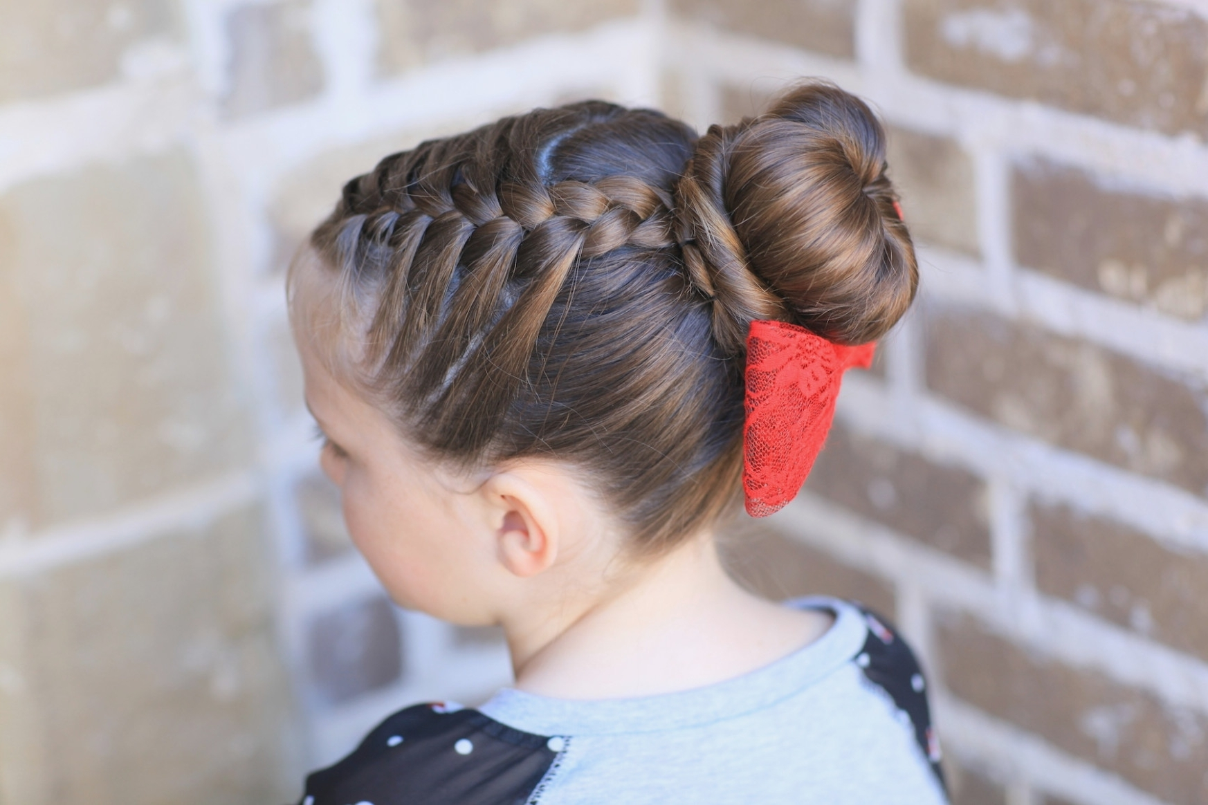 Hairstyles For Gymnastics Beautiful Braided Bun Hairstyles For Short With Regard To Well Liked Braided Gymnastics Hairstyles (View 9 of 15)