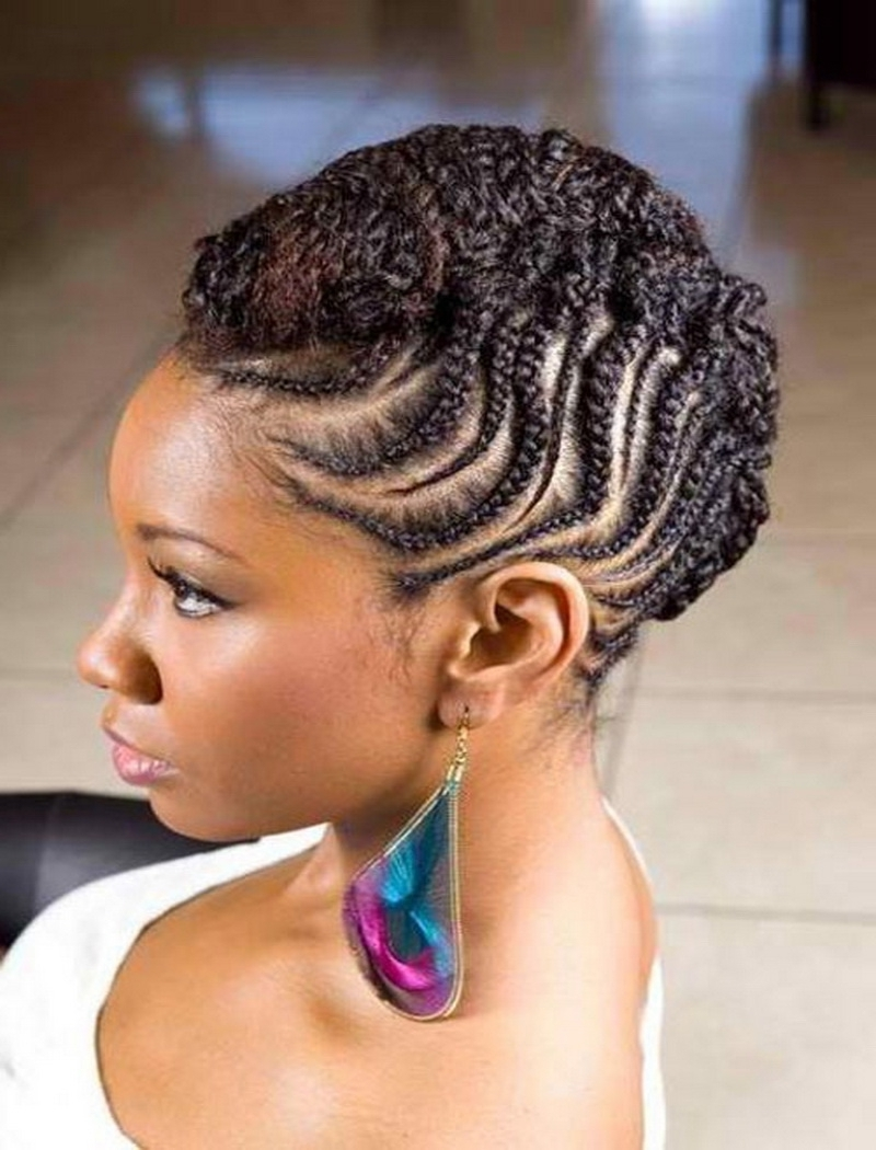 Hairstyles For Round Faces African Braided Hairstyles – Hairstyles Pertaining To 2017 Braided Hairstyles For Round Face (View 3 of 15)