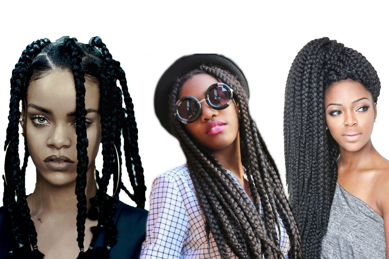 Hairstyles Within Well Known Rihanna Braided Hairstyles (View 8 of 15)