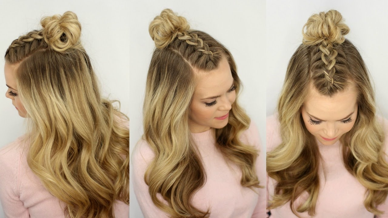 Half Up Hairstyle (View 1 of 15)