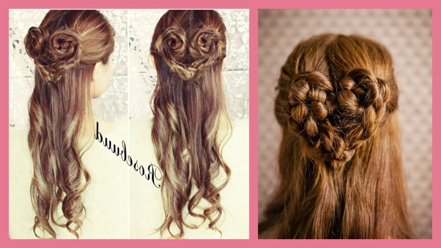 Heart Braid Hairstyle Updo – Youtube In Trendy Heart Braided Hairstyles (View 4 of 15)