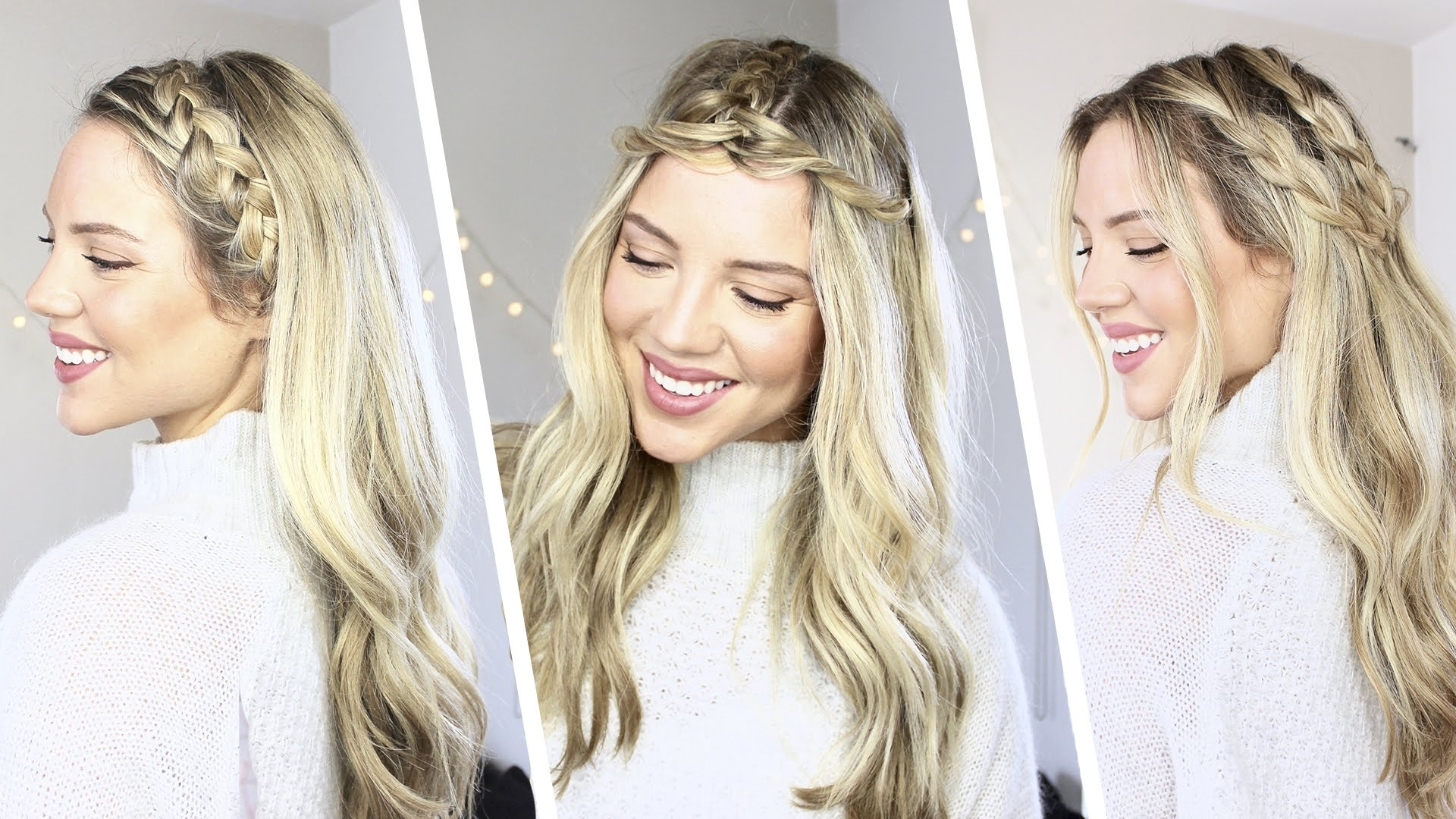 How To: 3 Easy Braided Hairstyles (View 4 of 15)