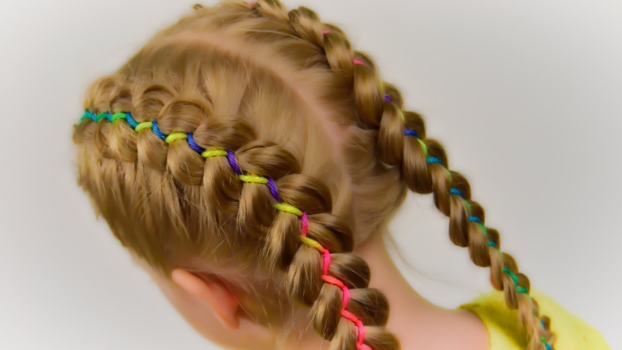 How To: 5 Strand Ribbon Dutch/french Braid (View 13 of 15)