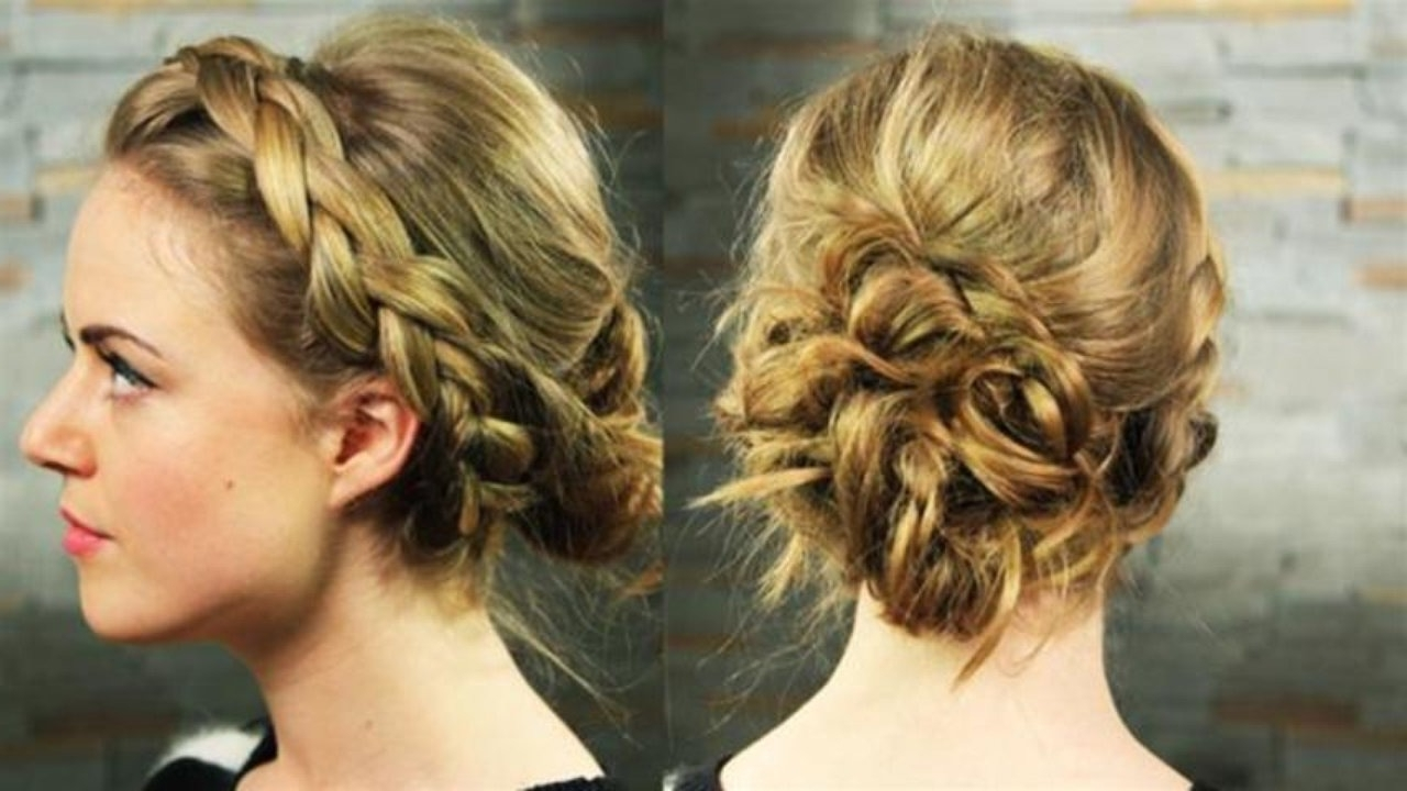 How To Do Athena Hair – Video Dailymotion In Favorite Braided Greek Hairstyles (View 6 of 15)