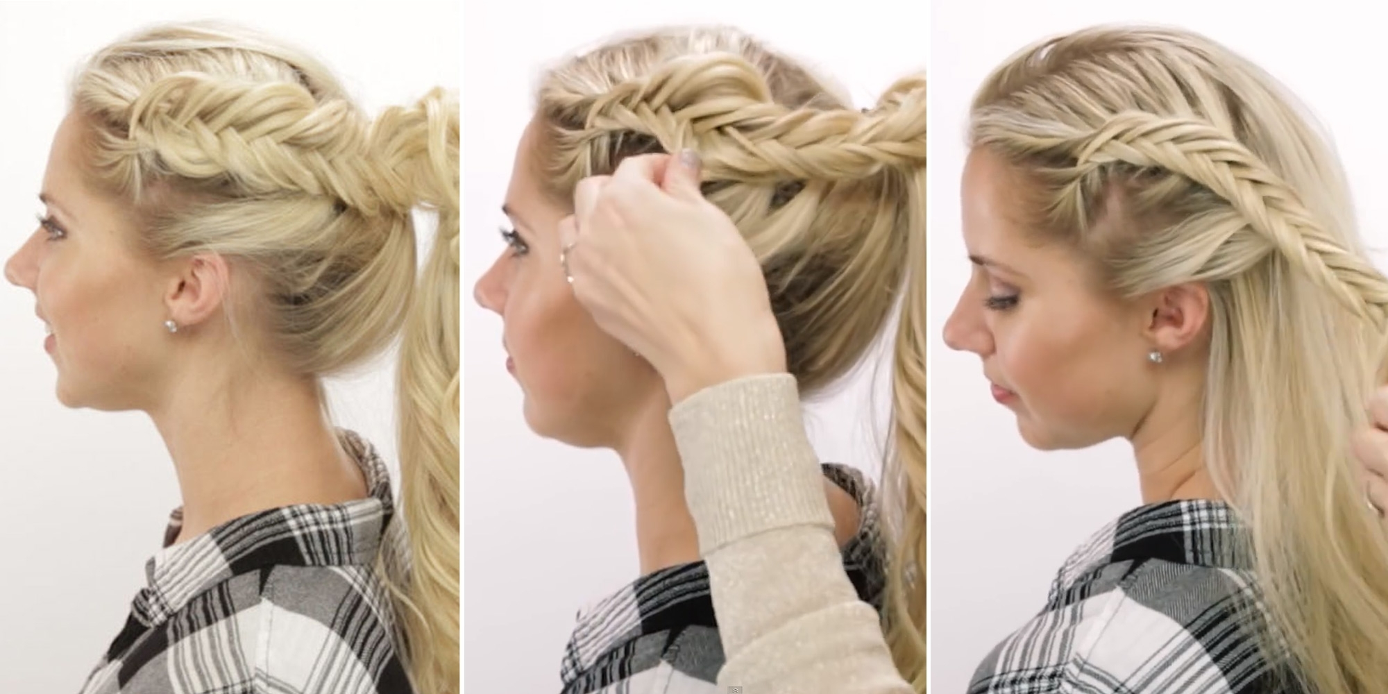 Ideas Collection Cute Braids Hairstyles Cute Braid Pancaking Tricks For 2018 Cute Braided Hairstyles (View 7 of 15)