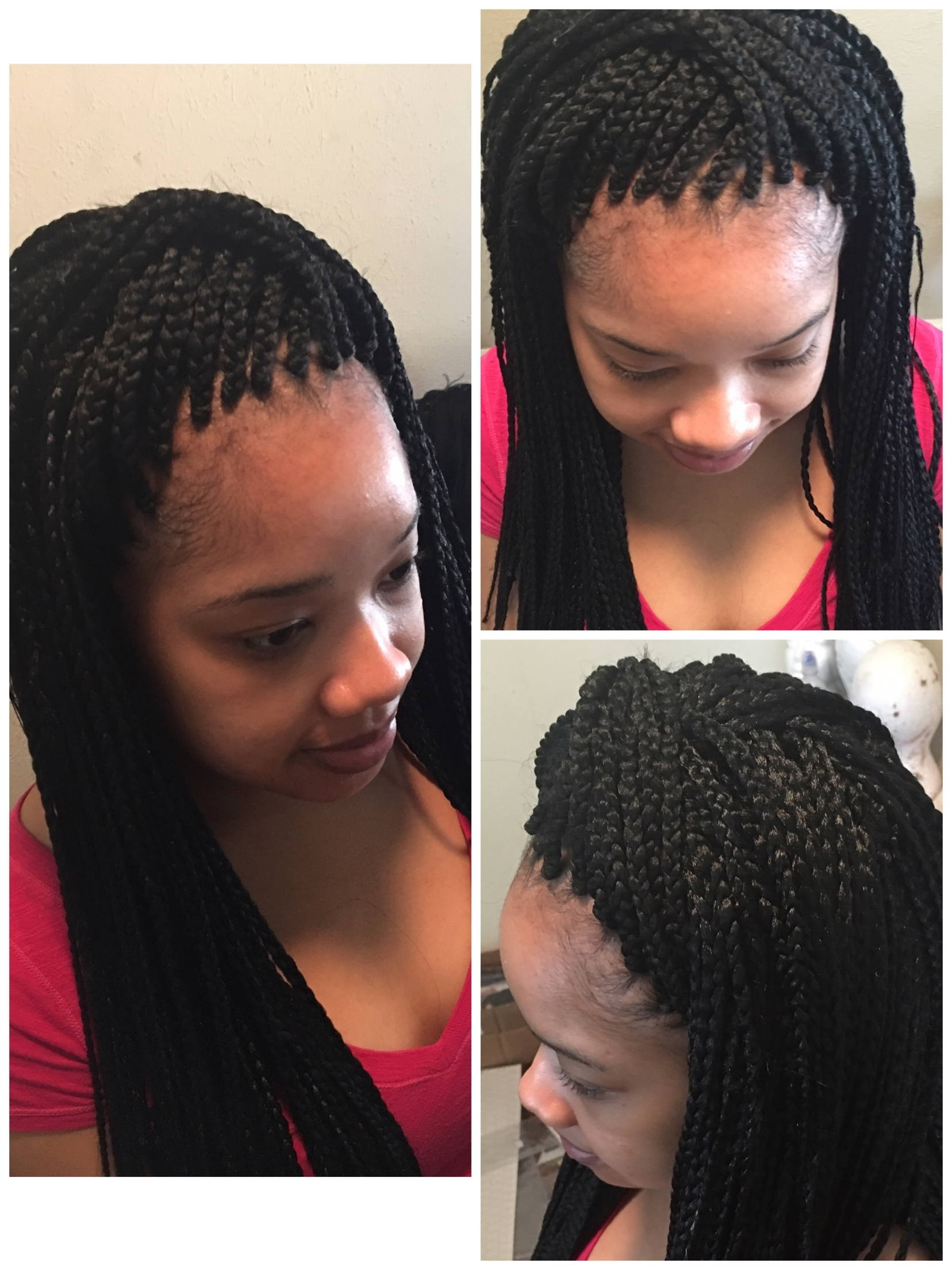 Ideas Of Hairstyles For Crochet Braids Brilliant Crochet Braids With Intended For Best And Newest Singles Braided Hairstyles (Gallery 8 of 15)