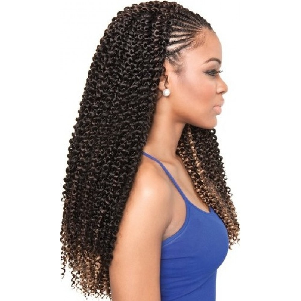 Isis Collection Caribbean Bundle Braids – Cork Screw (Gallery 4 of 15)