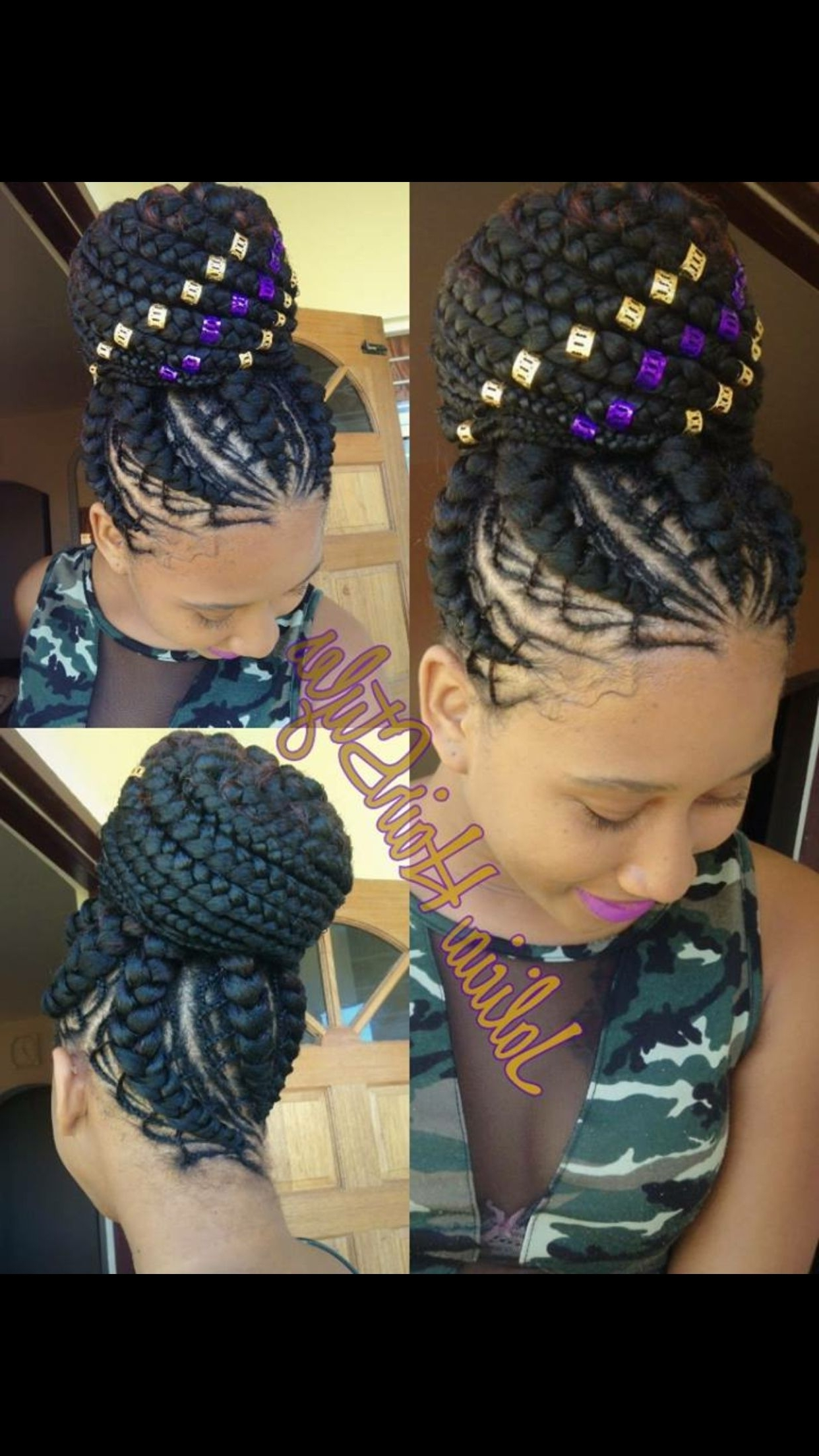 Jalicia Beautiful Hairstyles (View 8 of 15)
